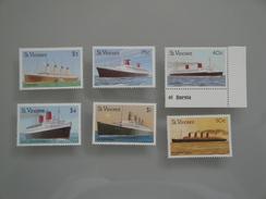 1989  St Vincent Yvert 1123/5 + 1155/6 **  Bateaux  Ships  Scott Xx Michel 1203/6 + 1208/9  SG 1222/5 + 1227/8 - St.Vincent (1979-...)