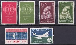 Nederland 727-730 1959-1960 - 1949-1980 (Juliana)