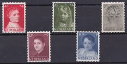 Nederland 702-706 1957 - Periode 1949-1980 (Juliana)