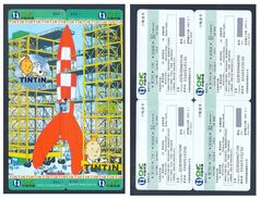Tintin Kuifje - 4 Telecards CNC-ZGWTJT-2006-248 - Livres, BD, Revues