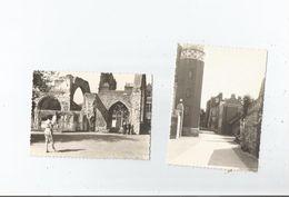CANTERBURY (ANGLETERRE KENT) ENSEMBLE DE 2 PHOTOS 1960 - Places