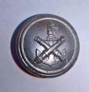 """Bottone Per Uniforme Della Milizia Artiglieria Marittima Cosiddetta """"CC.NN. Di Mare"""" - Marcato (REGNO D'ITALIA) - Bottoni"""