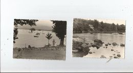 WENDERMERE (ANGLETERRE CUMBRIA) ENSEMBLE DE 2 PHOTOS 1960 - Places