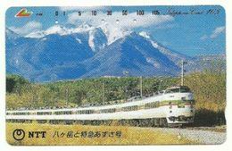 Giappone - Tessera Telefonica Da 105 Units T305 - NTT, - Treni