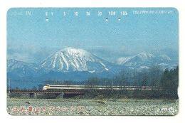 Giappone - Tessera Telefonica Da 105 Units T306 - NTT, - Treni