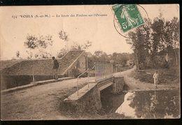 France & Circulad Postal, Voulx, Le Lavoir Des Foulons Sur Le Orvanne, Lisboa 1930 (66) - Bridges