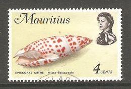 005197 Mauritius 1972 Sea Life 4c FU - Mauritius (1968-...)