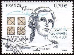 France Oblitération Cachet à Date N° 5036 - Sophie Germain - Mathématicienne Et Philosophe - Used Stamps