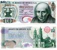 MEXICO 10 Pesos 1975 P-63h **UNC** - México