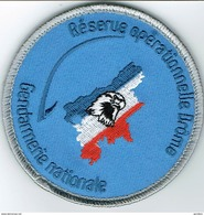 Ecusson GENDARMERIE  RESERVE OPERATIONNELLE DE LA DROME - Police & Gendarmerie