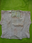 Chemisier Vintage-broderie Anglaise-epaule A Epaule 96cm  Tour De Poitrine 108cm - Vintage Clothes & Linen
