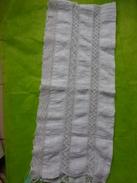 Fond D'un Jupon Long 284cm Hauteur 30 Cm Avec Dentelle - Vintage Clothes & Linen