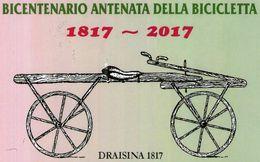 B 1189 - Sport, Ciclismo, Draisina - Cycling