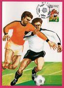 Carte Maximum - Football - Mexico Budapest - World Soccer Championship - Championnat Du Monde De Football - 1986 - World Cup