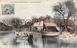73 - Environs D'Aix Les Bains - Le Canal De Savières - 1907 - Aix Les Bains