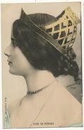 Cleo De Merode Reutlinger  Profil Colorisée - Artistes