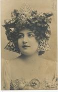 Lise Fleuron Née Marguerite Rauscher  Edit Stebbing Parure Et Boucle Oreilles Art Nouveau - Artistes