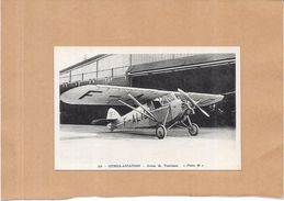 """DEPT 13 - ISTRES AVIATION  -  Avion De Tourisme  """" Potez 36 """"  - ENCH2306 - - Istres"""