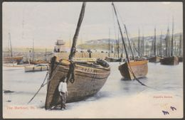 The Harbour, St Ives, Cornwall, 1905 - Argall Postcard - St.Ives