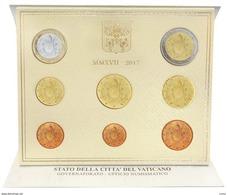 2017 - PONTIFICATO DI PAPA FRANCESCO - MONETE DIVISIONALI IN EURO - ANNO 2017 - Vaticano
