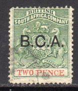 Nyasaland 1891 BCA Overprint On British S. African Company 2d Value, Used SG 2 (BA2) - Nyasaland (1907-1953)