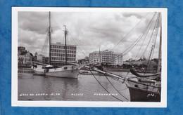 CPA - RECIFE , Brasil - Pernambuco - Cals De Santa Rita - Bateau Boat Ship Voilier Voile - Recife