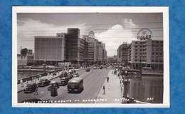 CPA - RECIFE , Brasil - Ponte Duarte Coelho - Av. Guarrapes - Automobile Autobus Auto - Publicité ROLEX , ESSO - Recife
