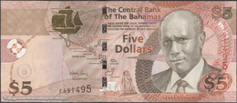 TWN - BAHAMAS 72 - 5 Dollars L.2000 (2007) Prefix F UNC - Bahamas