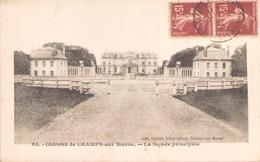 Chateau De Champs Sur Marne La Façade Principale - Castles