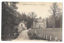 Cpa: 78 AUFFARGIS (ar. Rambouillet) Le Château (Plan Rare) - Auffargis
