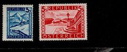 Österreich 738 - 770 Landschaften ** Postfrisch MNH - 1945-.... 2ème République