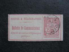 TB Timbre Téléphone N°28 Oblitéré . Cote = 25,00 Euros. - Telegraaf-en Telefoonzegels