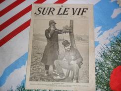 Sur Le Vif 49 Du 16-10-1915 Guerre Prisonnier Militaria Soldat Bataille Téléphone Doerflinger Besnard Pologne Bréhat ... - Livres, BD, Revues