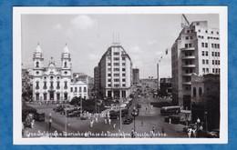 CPA - RECIFE , Brasil - Avenida 10 De Novembro - Automobile Autobus - Building Sulacap - Recife
