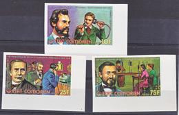 Comores  142 144 Centenaire De La Première Liaison Téléphonique Non Dentelé  Neuf **TB  Mnh - Comores (1975-...)