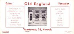 Vloeipapier Buvard - Pub Reclame Old England - Foto's - Kortrijk - Buvards, Protège-cahiers Illustrés