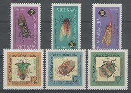 VIETNAM DU NORD:  N°451/456 NSG, TB. Cote 17€. - Vietnam