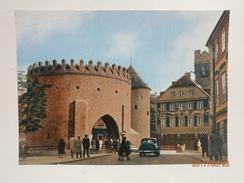 Postcard Warszawa Barbakan Warsaw The Barbican Poland My Ref B21431 - Poland