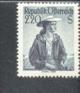 Österreich 978 - 980 Trachten / Costumes MNH Postfrisch ** - 1945-.... 2. Republik
