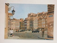 Postcard Warszawa Rynek Starego Miasta Warsaw Old Town Market Place Poland My Ref B21433 - Poland