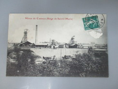 CPA 81 MINES DE CARMAUX SIEGE DE SAINTE MARIE - Carmaux