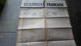Journal La Boulangerie Française N°23 Aout 1935 Organe Des Boulangers De France Publicités - Altre Collezioni