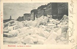 A-17.6905 :  MONTREAL ICE SHOVE IN HARBOUR - Montreal