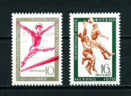 Rusia  Nº Yvert  3629/30  En Nuevo - 1923-1991 URSS