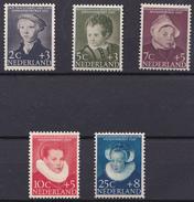 Nederland 683-687 1956 - Periode 1949-1980 (Juliana)