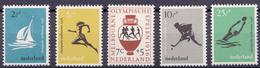 Nederland 676-680 1956 - Periode 1949-1980 (Juliana)