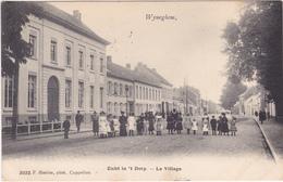 WYNEGHEM / WIJNEGEM - ZICHT In 't DORP - Mooie Animatie - 1909 - Wijnegem