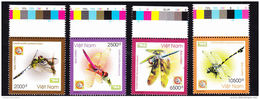 Vietnam Viet Nam MNH Perf Withdrawn Stamps 2011 : Dragonfly / Insect (Ms1009) - Vietnam