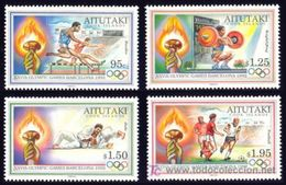 AITUTAKI 1992 - OLYMPICS BARCELONA 92 SET MNH - Verano 1992: Barcelona
