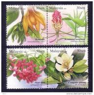 Malaysia 2008 S#1214-1215 Unique Flowers MNH Flora - Malaysia (1964-...)